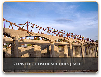 Construction of schools