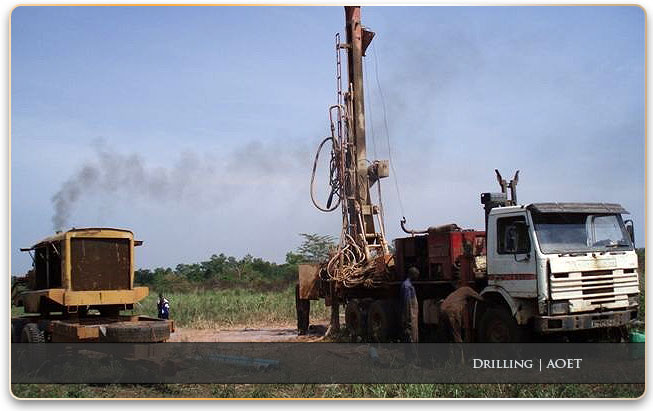 drilling in botswana